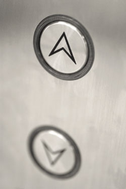 up elevator buttons
