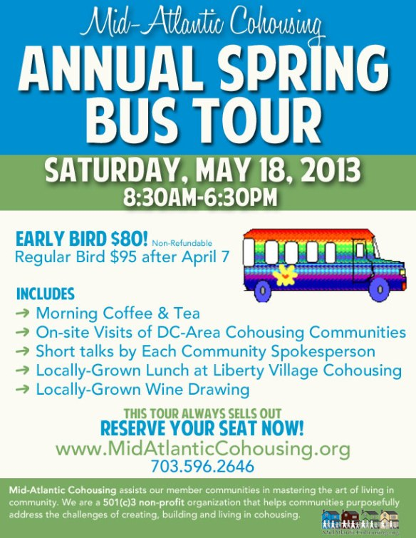 MAC Annual Spring Bus Tour 2013
